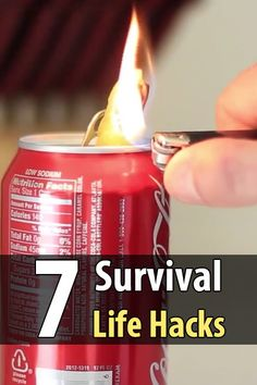Household Hacker makes videos with all sorts of interesting tips and life hacks. A while back they did a survival edition with 7 survival hacks.