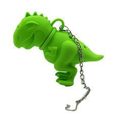 Gaosaili Creative Tea Rex Dinosaur Tea Infuser Green *** Want additional info? Click on the image.