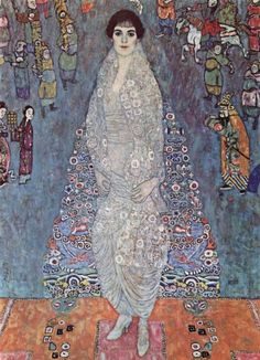 "artist-klimt:  ""Portrait of Baroness Elisabeth Bachofen-Echt, 1916, Gustav Klimt  Medium: oil on canvas"""