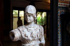 Escultura clàssica a la Casa de Pilatos.