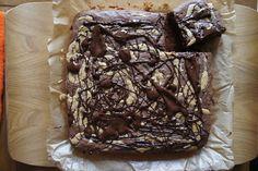 Gourmandises et Merveilles: Brownie au beurre de cacahuètes