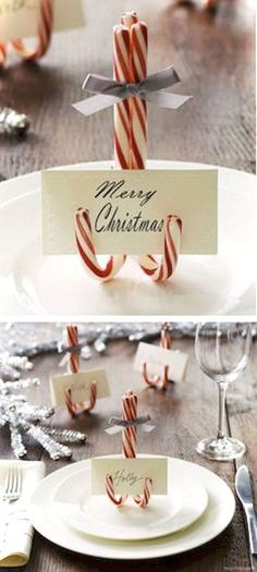 15 Christmas Projects DIY Christmas Projects - Get in the holiday spirit with 15 Christmas projects!DIY Christmas Projects - Get in the holiday spirit with 15 Christmas projects! Noel Christmas, Winter Christmas, Christmas Dishes, Christmas Place Cards, Christmas Ornaments, Christmas Place Setting, Christmas 2019, Christmas Island, Christmas Quotes