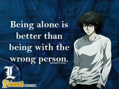 Anime Quote: L (Death Note) - Best of Wallpapers for Andriod and ios Death Note Quotes, Death Note 1, Death Note Anime, Anime Qoutes, Manga Quotes, Mail Jeevas, Vocaloid, Nate River, L Lawliet