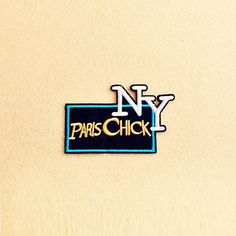 PARIS Patch - Iron on patch -Sew On patch - Embroidered Patch (Size 11.2cm x 7cm)