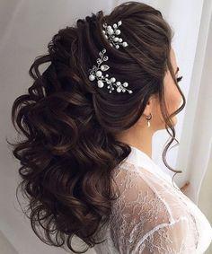 22 Inspiring Wedding Hairstyles 2018 for Medium Hair | Weekly Styles-22 Inspiring Wedding Hairstyles 2018 for Medium Hair