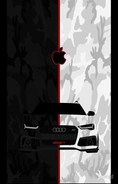 Buy 'AUDI ABT IPhone Case' by IamSoMad as a iPhone Case. Specially designed iPhone car for every Audi and car lover. Boss Wallpaper, Sports Car Wallpaper, Mobile Wallpaper, Audi Rs6, Apple Iphone Wallpaper Hd, Car Vector, Red Aesthetic, Car Wallpapers, Apple Logo