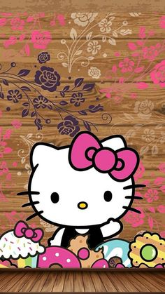 hello kitty, HK, and wallpaper 圖片