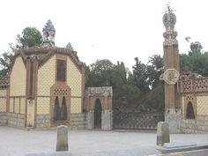Padiglione di casa Guell - Gaudì, Barcellona