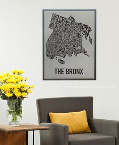 Bronx Map  R and I lived in Pelham Parkway between the park and
