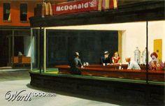 McNighthawks by billgx   30th place entry in Counterfeit Art  www.worth1000.com