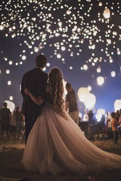 aislesociety: This glorious #Tangled inspired engagement on Swooned took place at a lantern festival for a completely magical effect! Photo by BEYOND THE DARKROM PHOTOGRAPHY via Swooned More Aisle Society - Facebook | Pinterest | Instagram | Twitter | G+
