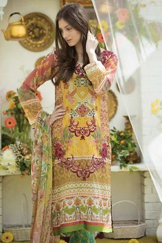 Ali Xeeshan Summer Lawn collection 2016 Gallery