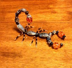Beaded scorpions. I can make these guys any color u like. $15