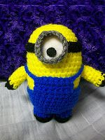 My Crocheted World: Despicable Me Minion Free Crochet Pattern!!