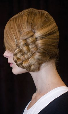 basket weave . . . id love to have that on the side of my daughter's head
