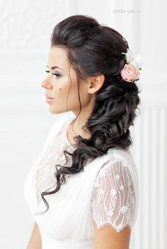 Favourite Wedding Hairstyles For Long Hair ❤ See more: http://www.weddingforward.com/wedding-hairstyles-long-hair/ #weddings