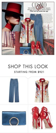 """""""Untitled #613"""" by katerina8606 ❤ liked on Polyvore featuring ISAORA, Valentino, Jonathan Saunders, Chloé and Sergio Rossi"""