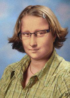 Photo de Mona Lisa retrouvée sur le trombinoscope de sa fac, à Florence