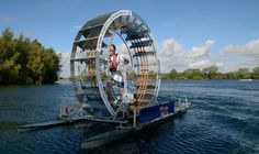 The Human Hamster Wheel: Chris Todd To Cross The Irish Sea Using A 'Tred...