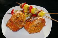 This delicious corn bread stuffed pork chop recipe has the combination of citrus and pecan flavors.