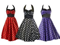 There's nothing like a cute 50's dress!
