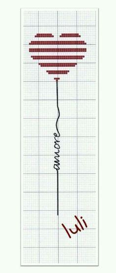 Segnalibro amore