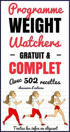 Dans cet article, vous allez découvrir comment avoir accès au programme minceu… In this article, you will discover how to access the Weight Watchers Weight Loss Program for free as well as 502 of their recipes. This diet … Programme Weight Watchers, Weight Watchers Points, Fitness Memes, Health Fitness, Fitness Sport, Weight Loss Program, Weight Loss Journey, Weith Watchers, Diet And Nutrition