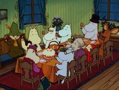 Moomin Cartoon, Moomin Valley, Tove Jansson, Goblin, Slime, Cartoons, Fandoms, Adventure, Illustration