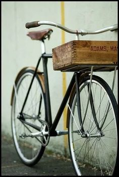 """""""Vintage bicycle with basket (box)"""" https://sumally.com/p/887448"""