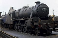 44888: Black 5 July 5th, 1968 Black 5 4-6-0 44888 at its home depot, Bolton. Photo from Terry Campbell.