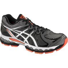 timeless design 7b74a 6ac86 ASICS GEL-Nimbus 15  ASICS Men s Running Shoes Storm Black Flash Orange