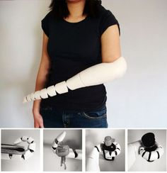 Interesting prosthetic limb design
