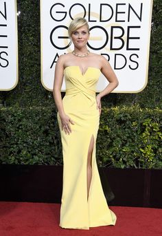 Reese Witherspoon - Every Best Dressed Look from the 2017 Golden Globes - Photos