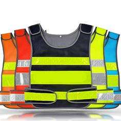 Spardwear Free Company Logo Printing Mesh Vest Reflective Safety Clothing Safety Blue Work Vest Hi Vis Vest In Many Styles Safety Clothing Security & Protection