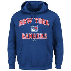 New York Rangers Majestic Heart & Soul Hoodie Royal Blue