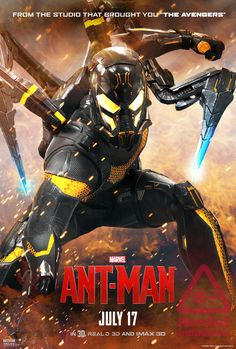 Corey Stoll's 'Yellowjacket' Gets His Own ANT-MAN Poster And It's Pretty Awesome