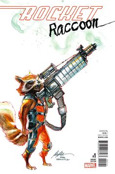 Preview: Rocket Raccoon #1, Story: Matthew Rosenberg Art: Jorge Coelho Cover: David Nakayama Publisher: Marvel Publication Date: December 28th, 2016 Price: $3.99 ..., #All-Comic #All-ComicPreviews #Comics #DavidNakayama #JorgeCoelho #Marvel #MatthewRosenberg #previews #RocketRaccoon