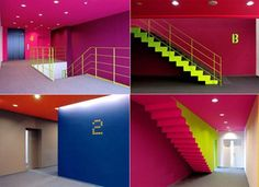 Image result for colorful cafe interiors