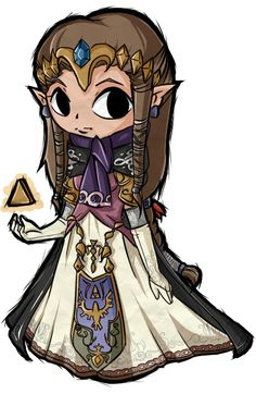 The Legend of Zelda: Twilight Princess, Princess Zelda / Princess Zelda by Raidiance on deviantART