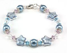Jewelry Making Idea: Let It Snow Bracelet
