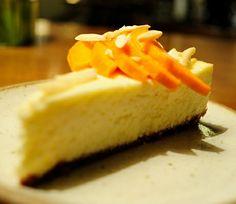 Mango ricotta cheesecake @ Zen Cafe, Mumbai