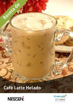 Llegó el horario de verano, y con ello este café helado. #CaféHelado #RecetasdeCafé #MomentoNescafé