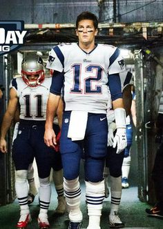 Brady 12  Follow your leader Lets GO PATS!