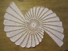 spiral crochet lace