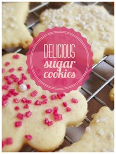 These sugar cookies are my all time favorite cookie for every occasion. They are super easy to make and delicious. The always bake the same every time I make them. They will be a favorite in your collection of recipes.