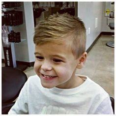 #ShareIG Such a happy little man!  There's nothing more gratifying!  #salonla #cincinnati #paulmitchell #cosmetology #barbering #kidscut #wahlhero #andismaster #barbershopconnect #anthonythebarber916 #hattorihanzoscissors #hanzonation #ilovewhatido #comegetcut