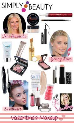Valentine's Day Beauty Tips #DIY #Beauty #Tips #Makeup