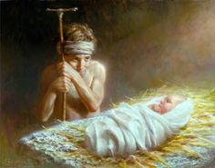 Image result for joseph brickey jesus and shepherd boy