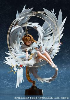 This sculpture of Sakura is amazing! Cardcaptor Sakura, Sakura Haruno, Anime Sakura, Manga Anime, Anime Art, Wallpaper Animes, Animes Wallpapers, Sakura Card Captors, 3d Art