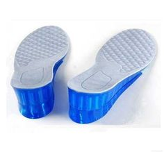 Gel Shoes Pads Height Increase Insole Plantillas Gel Hombre Shoe Insoles Height Increasing 2-5cm Semelle Chaussure Shoes Pad